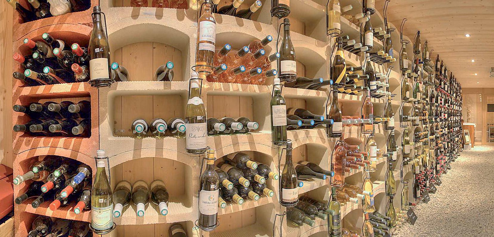 Regály na víno Bloc Cellier